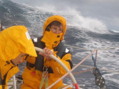 Hans Ostmann, Skipper